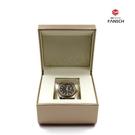高級香檳色手錶盒 高檔手鍊盒 定制手鐲盒 品牌手錶盒子私人定制【免運】
