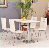 訂製肯德基餐桌椅 組合小吃酒飯冷飲奶茶店簡約組裝快餐廳桌椅子訂製 LannaS YTL