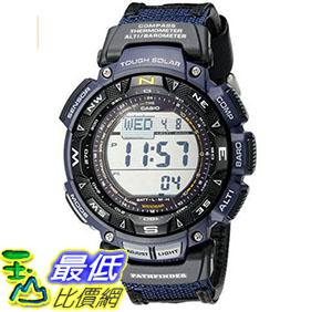 [美國直購] 手錶 Casio Mens Pathfinder Triple Sensor Multi-Function Sport Watch Blue Nylon Strap B01JTANOEU