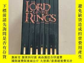 二手書博民逛書店The罕見Lord of the Rings(指環王 全7冊 英