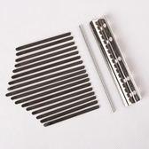 卡林巴拇指琴配件kalimba錳鋼琴鍵彈片17音卡淋巴組裝件