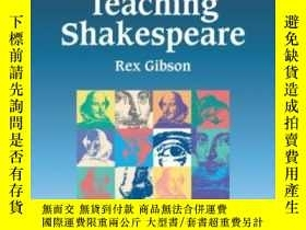 二手書博民逛書店Teaching罕見Shakespeare: A Handboo