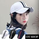 OT SHOP帽子‧韓版蝴蝶緞帶&帽檐刺...