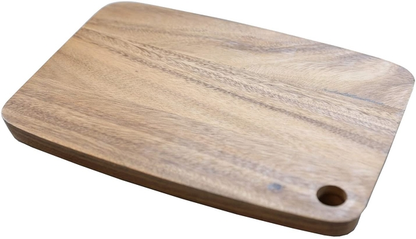 【日本代購】Swanson Shoji Chabatree 砧板 L Acacia Limpid Brown 約寬 35.5 x 深 25 x 高 2.5 cm