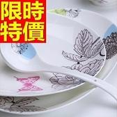 陶瓷餐具套組含碗盤餐具-首選歐式初春浪漫碗盤38件瓷器禮盒組64v39[時尚巴黎]