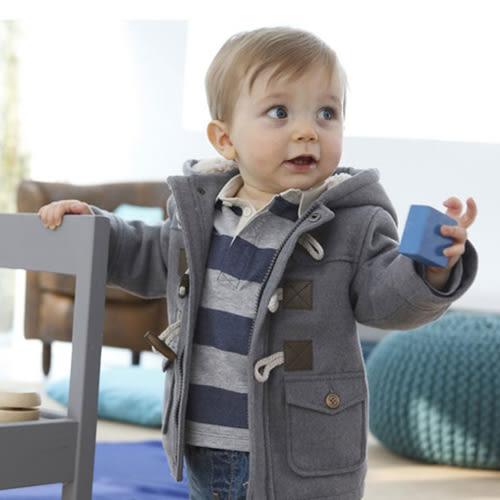 童裝 外套 男童 歐美 羊角扣 兒童 BW