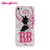 【Rebecca Bonbon】 iPhone 5 時尚彩繪保護殼-棒棒糖◆送很大!專用型螢幕保護貼◆