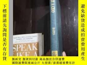 二手書博民逛書店英文原版SPEAK罕見LIKE A CEOY254691