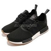 adidas 休閒鞋 NMD_R1 黑 白 男鞋 女鞋 Boost 襪套式 膠底設計 運動鞋 【ACS】 B42200