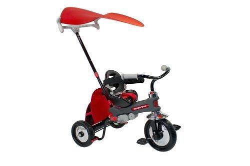 TRICYCLE MAGIC2 RED+BARR VOLO MAGIC紅色神奇三輪嬰兒車[衛立兒生活館]
