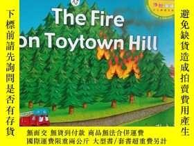 二手書博民逛書店體驗英語少兒閱讀文庫罕見the fire on toytown