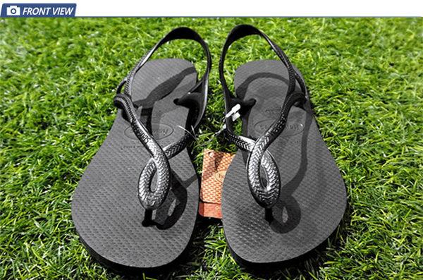 Havaianas Luna  細帶 珠光 涼鞋款  巴西拖 女 HF7F9697B9