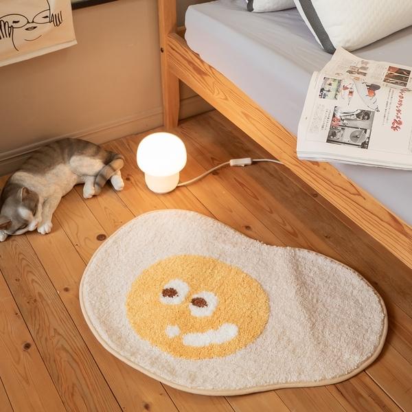 荷包蛋地墊 約65cmX45cm(誤差約正負1cm) 棉床本舖