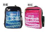 雪黛屋UNME 後背書包大容量二層主袋止滑保護肩帶 特殊EVA 高密度泡棉質  附品牌U3