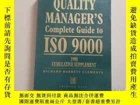 二手書博民逛書店QUALITY罕見MANAGER S Complete Guid