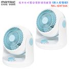 【兩入超值組+現貨供應】MATRIC MG-AF0716S 松木七吋夏日清新渦流風扇