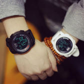 多功能電子大錶盤運動個性潮流時尚男女情侶手錶學生錶男錶女錶[W010]