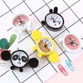 週年慶優惠-鬧鐘 韓國可愛卡通袖珍迷你定時小鬧鐘萌創意口袋金屬鬧鐘鬧錶