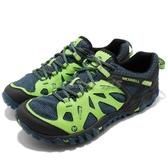 Merrell 戶外鞋 All Out Blaze Aero Sport 綠 藍 男鞋 水陸運動鞋 越野 登山 【PUMP306】 ML35577