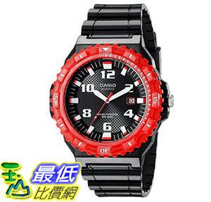 [美國直購] 手錶 Casio Mens MRW-S300H-4BVCF Tough Solar Watch With Black Resin Band
