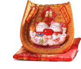 【金石工坊】良緣來吧情侶貓(高8CM)招財貓 桌上擺飾 好姻緣好人緣招桃花
