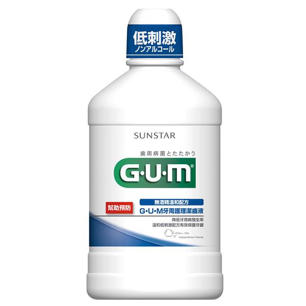 GUM 牙周護理潔齒液 500ml【屈臣氏】