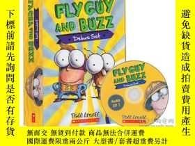 二手書博民逛書店英文原版繪本罕見Fly Guy And Buzz 蒼蠅小子 15