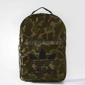 adidas 後背包 CLASSIC BP CAMO 男女款 三葉草 雙肩背 包包 背包 綠 迷彩 【ACS】 BQ6084