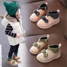 女童靴子2019秋季新款網紅寶寶百搭短筒二棉兒童襪靴公主小童短靴