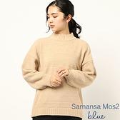 「Hot item」圓領落肩針織上衣 (提醒 SM2僅單一尺寸) - Sm2