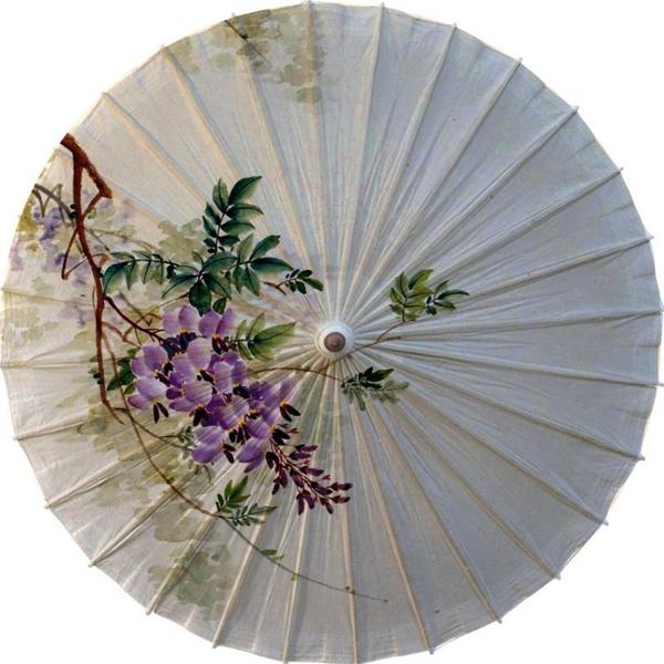 油紙傘女純手工傳統漢服傘
