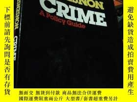 二手書博民逛書店sense罕見and nonsense about crimeY