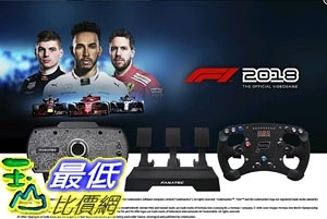 [7美國直購] Fanatec Formula 2018 PC Adrenaline Bundle Model: B-EWBCAREPLCF118P