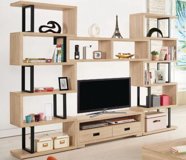 電視櫃 MK-326-1 艾爾莎9.2尺組合電視櫃【大眾家居舘】