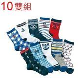 百搭《海錨網眼款》帥氣短襪 ((10雙組)) FE(W-6)