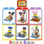 LOZ 迷你鑽石小積木 迪士尼 米奇 米妮 唐老鴨 高飛狗 樂高式 組合玩具 益智玩具 原廠正版