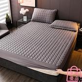單件 床笠夾棉加厚床墊床包保護套防滑固定床罩全包【匯美優品】