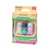 日本 EPOCH森林家族 波斯貓三胞胎 EP14057 原廠公司貨