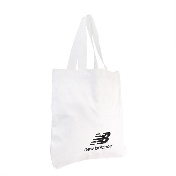 New Balance 托特包 Pool Tote 白 黑 男女款 購物袋 單肩背 【ACS】 BG03079GWK