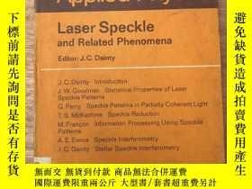 二手書博民逛書店laser罕見speckle and related pheno