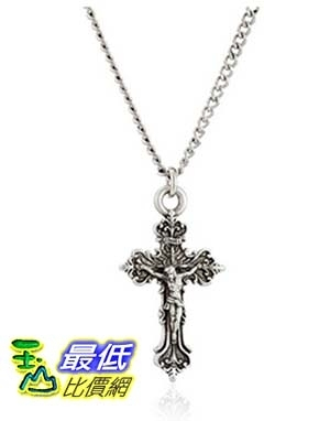 [美國直購] Small Fancy Crucifix Pendant Necklace, 18 項鍊