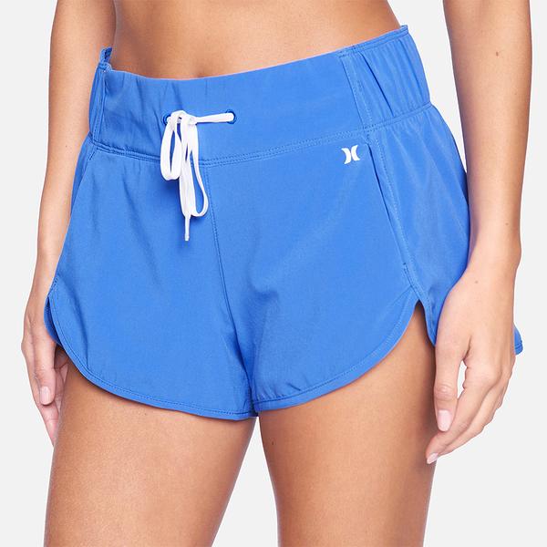 "HURLEY|女 AQUAS SOLID 2.5"" BOARDSHORT 海灘褲"
