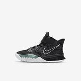 Nike Kyrie 7 (ps) [CT4087-002] 中童鞋 籃球鞋 運動 靈活 包覆 舒適 保護 避震 黑