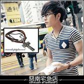 惡南宅急店【7291A 】 不用等‧香港帶回『層次雙鍊混搭』項鍊‧品味不可取代