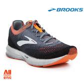 【BROOKS】男款避震型慢跑鞋 Levitate 2- 黑灰橘(901D026)-全方位跑步概念館