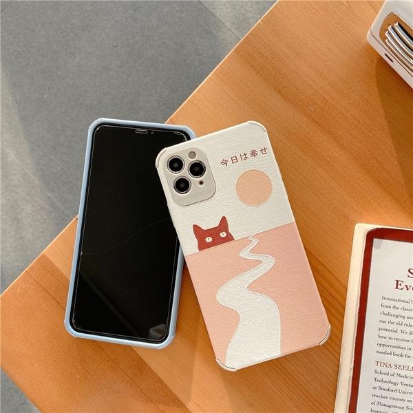 日文和風貓 適用 iPhone12Pro 11 Max Mini Xr X Xs 7 8 plus 蘋果手機殼