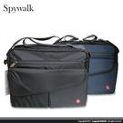 【SPY WALK】 潮流雙層休閒側背包/書包/電腦公事包 s9455