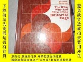 二手書博民逛書店The罕見Why,Who and How of the Edit
