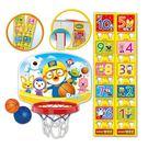 兒童籃球架免打孔室內掛式家用投籃框 玩具