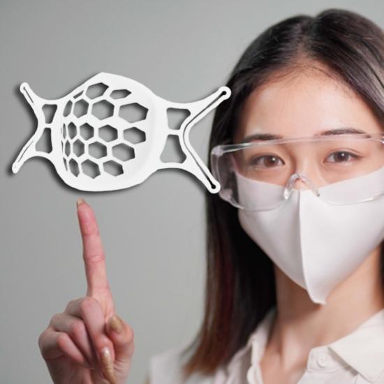 口罩支架 矽膠面罩 口罩面撐 口鼻分離 口罩架 內墊支架 內部支撐墊 3D口罩支架 【Y060】慢思行